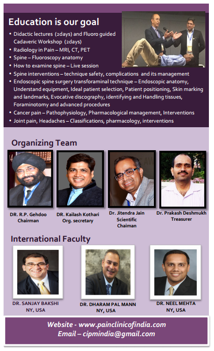 CIPM organizer and international faculty